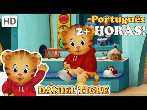 Daniel Tigre em Português 2 Horas De Daniel Tigre HD Episódios Completos