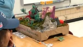 2nd grade Dinosaur project presentation Part 2
