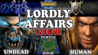 Grubby | Warcraft 3 TFT | 1.29 LIVE | UD v HU on Turtle Rock - Lordly Affairs