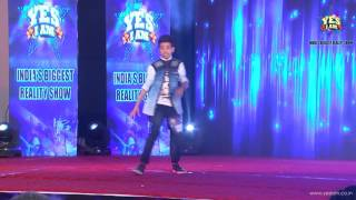 Performance of Rudra Sharma  at Mega2 Audition of YES I AM Reality Show