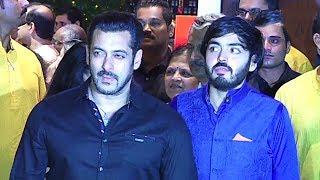 Salman Khan's GRAND Entry At Ambani's Ganpati 2017 Party