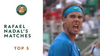 Top 5 Rafael Nadal