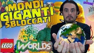 Mondi Giganti Sbloccati - Lego Worlds #11 Gameplay ITA - PS4