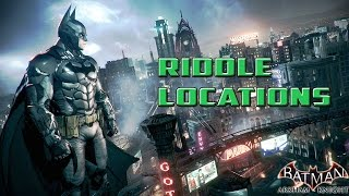 Batman Arkham Knight Riddle Locations | Far away the deflated brute roams