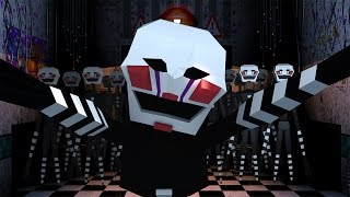 Minecraft   Escape From Five Nights at Freddy's - Puppets Bathroom Surprise! (Minecraft Roleplay)