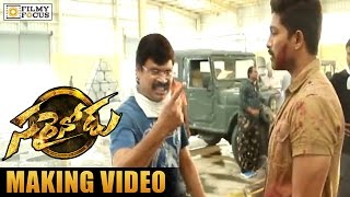 Sarainodu Making Video || Allu Arjun, Boyapati Srinu, Rakul Preet - Filmyfocus.com