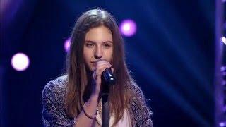 13-Year Old Julie Sings Thinking Out Loud - Ed Sheeran - Voice Kids