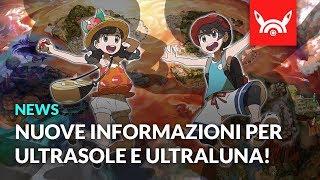 TUTTE le INFO dal NUOVO TRAILER di Pokémon ULTRASOLE E ULTRALUNA!