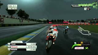 MotoGP™13  Gameplay Le Mans Marc Marquez [HD]