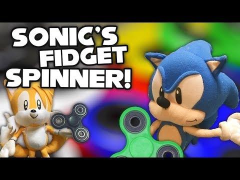 Sonic's Fidget Spinner!