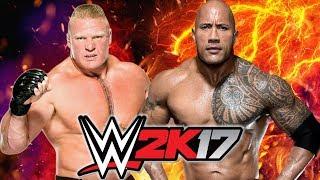 Brock Lesnar vs The Rock