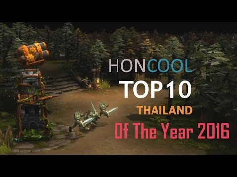 HC HoN Top10 Thailand of the Year - 2016