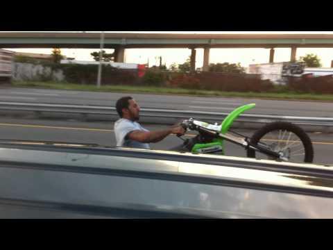 Philly vs. Baltimore in wheelie contest