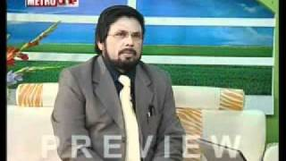 3rd Interview of Dr. Abir Mirza on MetroOne Tv (PART 3)