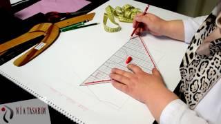 Nia Tasarım Bebe-Çocuk Giyim Modelistlik Kalıp Videosu