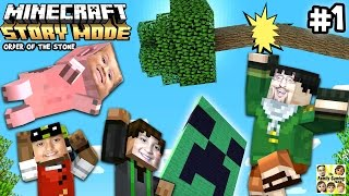 Lets Play Minecraft Story Mode #1: ✉ DEAR MOJANG! ✉ (Episode One: The Order of the Stone)