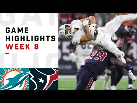 Xxx Mp4 Dolphins Vs Texans Week 8 Highlights NFL 2018 3gp Sex