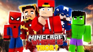 THE MINEVENGERS SEARCH FOR THOR THE LAST SUPERHERO - Minecraft Adventure