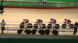 Велоспорт командная гонка 4 км Юниорки