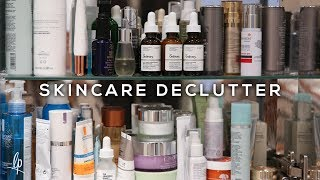 CLEARING & ORGANISING MY SKINCARE CUPBOARD   Lily Pebbles