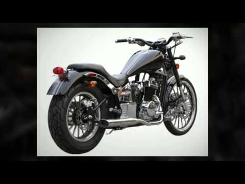 Johnny Pag Pro Street Motorcycle Black