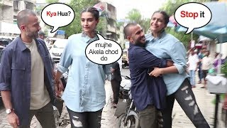 Sonam Kapoor SHOUTS On Husband Anand Ahuja For Creating A Scene In Public