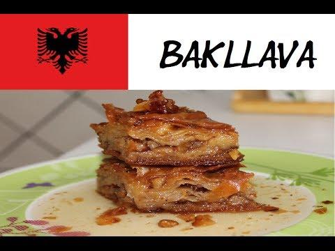 recetë bakllava shqiptare në gjuhën shqipe