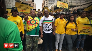 """ANCYL  march to ABSA offices demanding """"pay back the Money"""""""