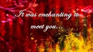 Taylor Swift- Enchanted [w/ lyrics]