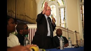 Bernie Sanders visits a black church and only white people showed up