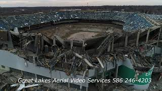 Pontiac Silverdome Implosion