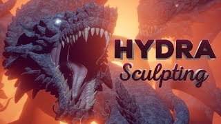Create a Hydra in Blender (+ EEVEE Demo)