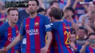 اهداف مباراة برشلونة وفياريال 4-1 الدوري الاسباني (شاشة كاملة ) روؤف خليف 06-05-2017-HD