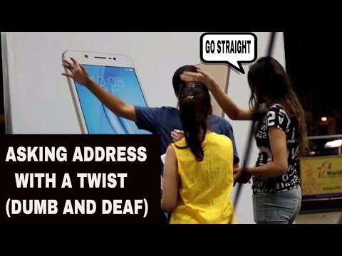 Xxx Mp4 ASKING ADDRESS WITH A TWIST DUMB DEAF PRANK IN INDIA TTM GWALIOR PRANKS IN INDIA 3gp Sex