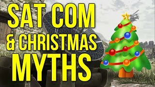 Sat Com & Christmas Myths - CoD Ghosts Gameplay Commentary