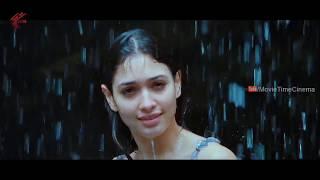 Tamanna Bathing Scene || Racha Movie