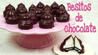 Besitos de chocolate con oreos | besos de moza | Mi tarta preferida