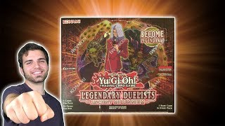 *NEW* YuGiOh Legendary Duelist Ancient Millennium Box Opening & Review! Pegasus is Back!!