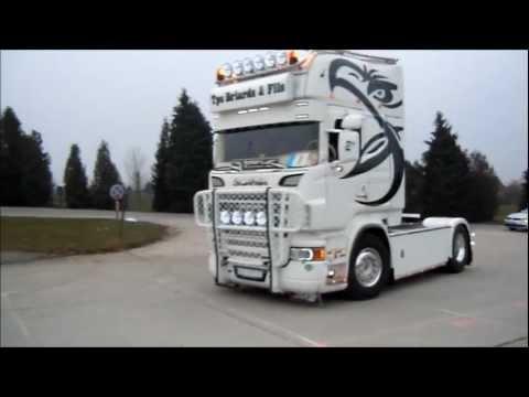Ciney Truck Show Truckeinfahrt 2013