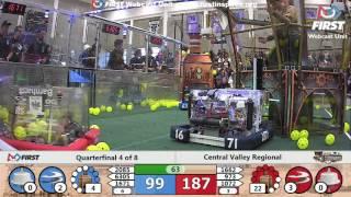 Quarterfinal 4 - 2017 Central Valley Regional