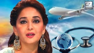 Madhuri Dixit HOSPITALISED In US!!! | LehrenTV