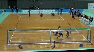 2019 Goalball Japan Para Championships Day 2 Turkey v Brazil 2nd Half