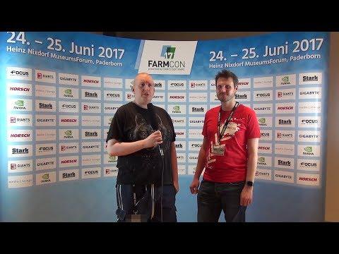 FarmCon 17 - Interview mit Martin Rabl über das LS 17 Platinum Addon, die FarmCon & Mehr