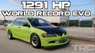 Mitsubishi Evo World Record 1291HP -