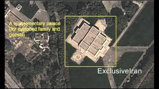 کاخهای مجلل خامنه ای در ملک آباد