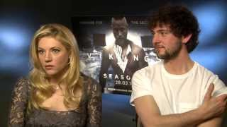 Katheryn Winnick and George Blagden talk Vikings 1