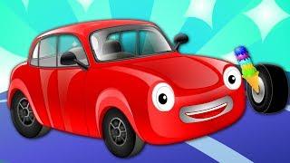 Motor Car | Vehicle Rhymes | Nursery Rhymes For Kids