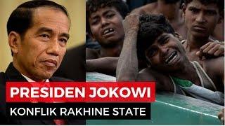 Pembantaian Muslim Rohingya di Myanmar, Ini Pendapat Presiden Jokowi