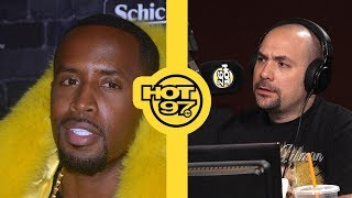 Safaree Get's Booed Out Of NYC Basketball Game & Goes Full Heel!!