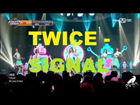 Similarities in TWICE title songs (up to SIGNAL era)